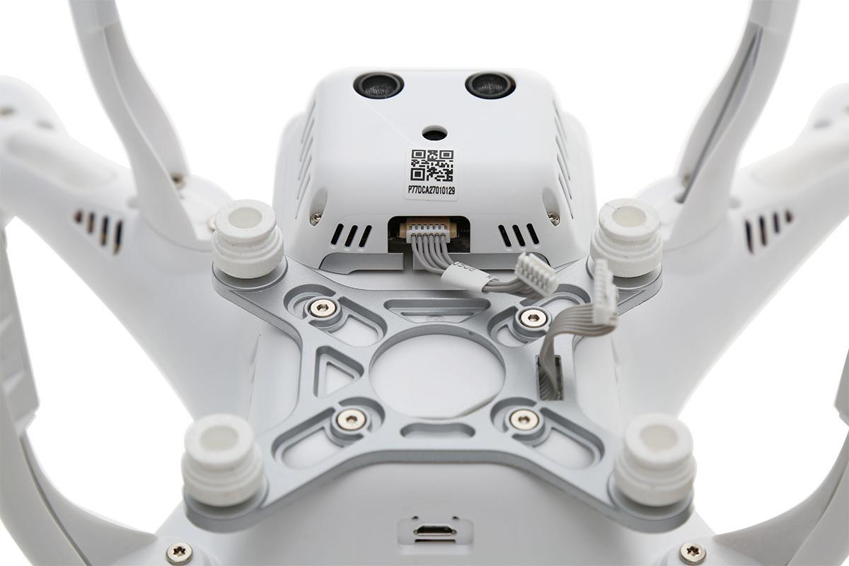 Квадрокоптер dji phantom 3 без камеры комплект винтов комбо уровень шума